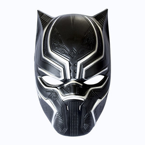Black Panther Masks Movie Cosplay Four Cosplay Men's Latex Party Mask Masquerade For Halloween Christmas Decoration HH7-1112