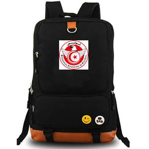 Tunisia zainetto TUN sacchetto di scuola squadra paese Popolare amore Calcio giorno pacchetto Computer zaino Sport zainetto zaino esterno