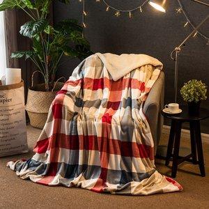 Novo design de flanela capa de edredão Cobertores para camas Sofá da manta Inverno Cobertor Colcha Natal da manta macia Crianças Quilt mantas decorativas
