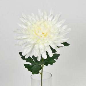 Simulazione fatta a mano Fiore di crisantemo Pianta da vaso in fiore Festa di nozze Forniture per feste Stile moderno minimalismo Vendita calda 2 3hy ii