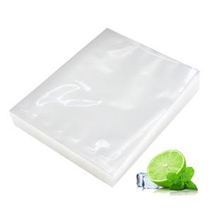 100 adet / grup Vakum Çanta Gıda Vakum Mühürleyen Vakum Çanta Gıda Sous Vide Paketleme Makinesi için Ambalaj Saklama Torbaları