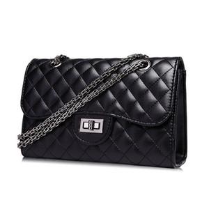 Fashion casual bag Borse da donna Girl Small Nuovo modello Handbag Lock catch PU Soft Cross Body Shoulder Borse Totes Mini Pure color A2095