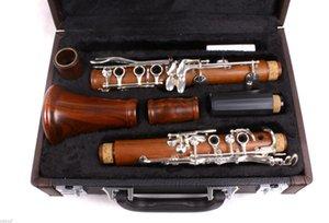 Clavier professionnel en bois de rose avec corps en bois de rose, clé nickelée, clé Sib 17