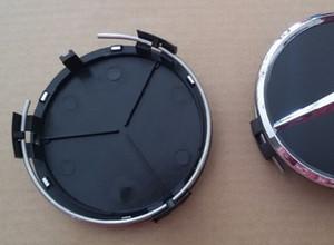 """20 pezzi 3 """"75mm Tappi centrali per cerchioni adatti per W203 W204 W124 W211 W212"""