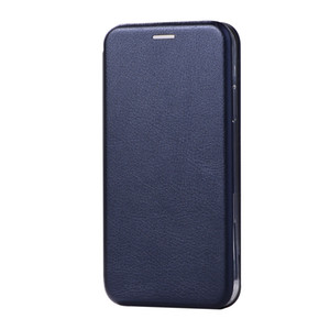 Dark blue new mobile phone case protective cover shell bracket mobile phone holster Korean version of high-end suitable for iPhoneXs.Ma