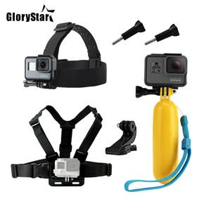 الملحقات لGOPRO بطل 5 6 الصدر للحصول على جبل الموالية XIAOMI يي 4K لEKEN H9 الشريط SJCAM SJ4000 العودة كاميرا العمل