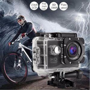 Toptan Eylem Kamera Full HD 1080 P Dijital Spor DVing Fotoğraf Kam sualtı Su Geçirmez kameralar 30 M Camcord 2.0 Inç Mini Video Kam