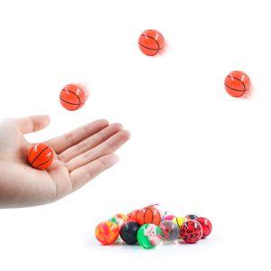 Top Mini Mixed Bouncing Balls Kinder Gummi Spielzeug für Kinder Outdoor Badespielzeug Sportspiele Elastic Jumping Antistress Balls 2018