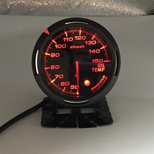 Envío gratis 13 Color de luz de fondo en 1 60 mm Racing DEFI BF Link Auto Gauge Medidor de temperatura del aceite Medidores Sensor de temperatura del aceite