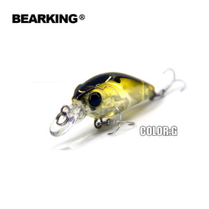 Outdoors Beaeking 5Pcs Lot Fishing Lures Assorted Colors Crank 35Mm 3.5G Dive 1M Professional Hard Fish Baits Hot Models Free Shipping