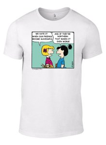 Morrissey NORTH Paroles T-Shirt Peanuts Charlie Brown Smiths inc TAILLES DE L'ENFANT W