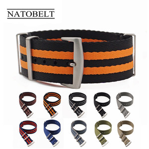 James Bond 007 20mm 22mm Nato Strap Watch Band Men Buckle Watch Strap with tools