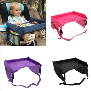 4 Farben Baby Auto Sicherheitsgurt Reise Spielablage Wasserdichte Faltbare Tabelle Baby Auto Sitzbezug Kinderwagen Snack Mit Opp Paket