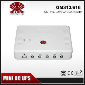 SK616 UPS المحمولة المصغرة مع 5V / 9V / 12V / 15V / 24VDC واجهة USB ميناء ماكس 24W 2A الناتج الحالي 15600mAh بطارية ليثيوم بنيت