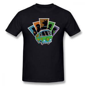 Été Pour Garçon 2018 Nouveau Scooby Doo T Shirt Homme Graphique Bus Scooby - Doo T Shirt Camiseta