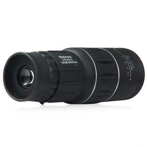 YENI 16x52 Çift Odak Monoküler Teleskop Yakınlaştırma Optik Lens Dürbün Spotting Kapsam Kaplama Lensler Çift Odak Optik Lens