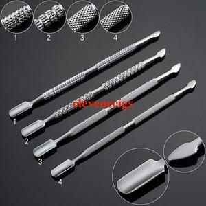 balmumu atomizör kuru ot buharlaştırıcı kalem 4 tarzı Wax gör dabber aracı paslanmaz çelik kurulamak aracı balmumu aracı