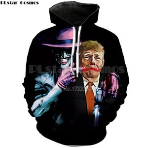 PLstar Cosmos NEW Funny Sweatshirts Men Women 3d Hoodies Tracksuit  The Joker Hoodie Suicide Squad Clown Pullovers