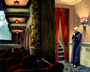 Edward Hopper New York Film Livraison Gratuite, Peint À La Main HD Print Wall Art peinture à l'huile Sur Toile Décor À La Maison Multi tailles p275