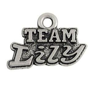 2021 Sporty Team Lily Word Charm Antique Silverated Другие индивидуальные украшения