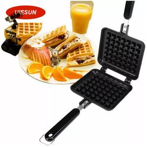 Waffle Kalıp yapışmaz Çerez Kek Kalıbı Gofretler Tavalar DIY Muffins Kalıp Aşk Kahvaltı Bakeware için Yeni Varış