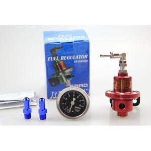 Envío gratis SARD con medidor de aceite ajustable Turbo Racing Auto coche aceite regulador de presión de combustible FPR reguladores de combustible