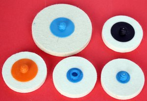 1500pcs ctn 2'' Quick change wool discs for polishing  abrasives