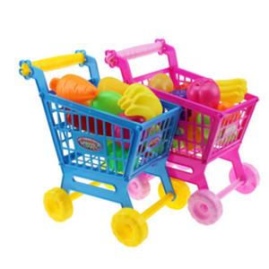 FlyingTown Tutti finta Gioca a giocattoli di plastica Supermercato Giocattolo Shopping Simulazione Giocattoli per bambini all'ingrosso