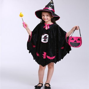 2018 Nueva Moda de Halloween performance Costume Cap Wizard Witch Hat Party Cosplay Props Clear Hats para Adultos Niños Clacks
