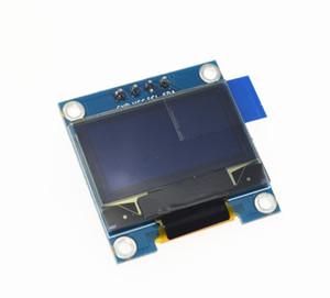 """Spedizione gratuita 1 pz giallo blu doppio colore 128X64 display a cristalli liquidi display OLED per arduino 0.96 """"I2C IIC SPI seriale nuovo originale"""