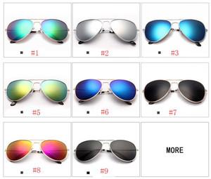 Mode Brillen Frauen Sonnenbrille Sonnenbrille Transparente Augen Jurte Fahren Sonnenbrille Strand Sonnenbrille Pilot Sonnenbrille 9 Farben