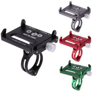 4 cor de metal anti slide suporte da bicicleta da bicicleta suporte de telefone suporte de montagem extensor guiador para celular telefone gps etc