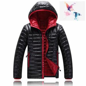 2018. Alta calidad nueva chaqueta de los hombres de invierno Down puffer ocasional sudaderas con capucha de marca NorTh Down Parkas Warm Ski para hombre abrigos de la cara 1501