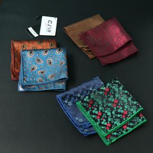 10 шт. / лот 23 цветов можно выбрать новый корейский модельер высокое качество носовой платок квадратный платок мужской деловой костюм карман