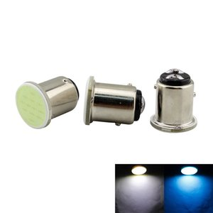 S25 P21W 1156 1157 BA15S BAY15D LED COB 12 SMD Auto Car Signal Bulbs Backup Lights Parking Lamp White Ice Blue DC 12V