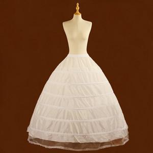 Jupon Mariage Ajustable 6 aros vestido de bola nupcial boda enagua matrimonio Crinoline Underskirt accesorios de boda baratos CPA1088