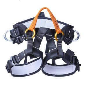 Profesyonel Emniyet Kemeri XINDA XD-A9519 Açık Kaya Tırmanışı Yarım Vücut Bel Desteği Emniyet Kemeri Rappelling Koruyucu Dişli