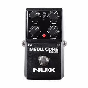 NEU NUX Upgraded Metal Core Deluxe Distortion Gitarreneffekte Pedal Metall und modernes extrem Heavy Metal Guitarra Pedal