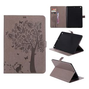 Cingindo árvore textura padrão carteira auto sono wake tablet case para samsung ipad 2/3/4 5 6 pro 10.5 mini 4