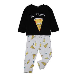 Newborn Baby Boys Clothing Cartoon T-shirt+Pants 2PCS set Pizza Outfit Infant Boutique Casual Clothes Kids Costume Toddler Children Pajamas