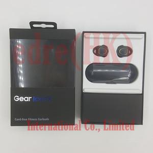 Gear iconx جديد الموضة SM-R150 سماعات بلوتوث لاسلكية TWS رياضية مضادة للماء مع سماعات بلوتوث صغيرة مع صندوق شحن / i7s i8 i9