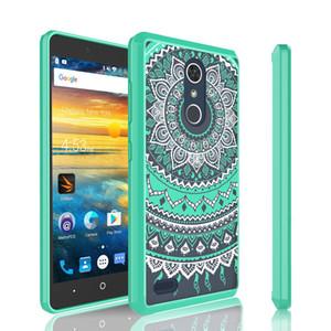 LG K20 artı Stylo 3 Boyama cep telefonu kabuk Için LG Aristo 2 X LV9 ZTE Avid 4 Metropcs Arka Kapak