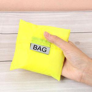 Sacchetto della spesa utilizzabile pieghevole Comodo contenitore di stoccaggio Eco Friendly Grocery Nylon Grande reticolo portatile Novel Pratico Light 1 79dg cc