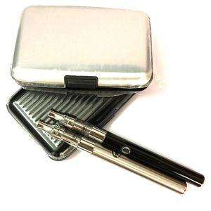 ecigs 시동기 장비 Vape 펜 장비 380mAh 예열 펜 E 똑똑한 건전지 USB 충전기 왁스 두꺼운 기름 Liberty 유리제 Creamic 코일 카트리지 증기 펜