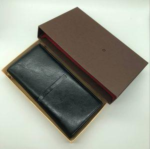 Bolso del traje de los hombres de lujo MB artesanos marca de diseño de la marca tarjeta de la marca caja de fotos marco de negocios de alta calidad 2018 más reciente.