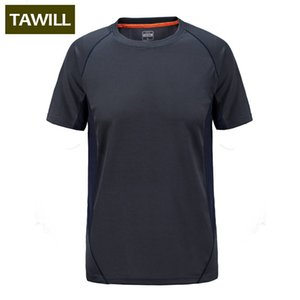Wholesale-Field Base Fitness T Shirt Men Short Sleeve Quick Dry Men T Shirt Dry Fit Tshirt Casual O neck Tee Tops Plus Size M-7XL