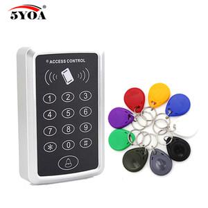 5YOA Access Control System RFID Card Keytab Proximity Door Lock Бесплатная доставка 5yoa tag EM ID клавиатура устройства брелки контроллер