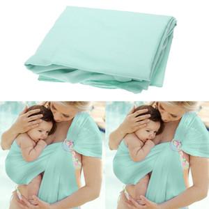 Respirável Enrole bebê portador do algodão Horizontal Frente infantil Carry Kid portador QuickDry Água Anel balanço Slings para New Baby Sling produtos