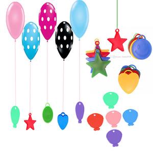 Ballon Anhänger Folie / Helium Ballons Lager Anhänger Ballon fallen Gewicht Block Zubehör Party Dekor