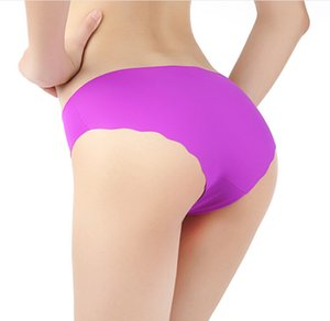 Nueva llegada Seamless Top Cotton Fabric ultrafino Comfort No Trace Women Underwear Panties Briefs